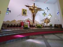 Msza św. dziękczynna zaks. Grzegorza