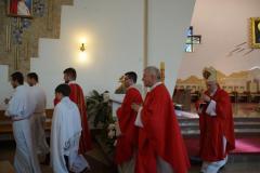 Uroczyste wprowadzenie relikwii św. Maksymiliana